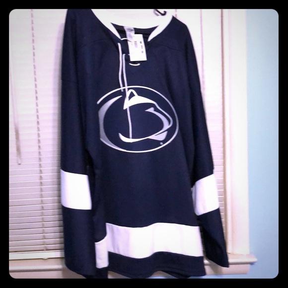 the latest 7f061 e85aa Penn State Hockey Jersey